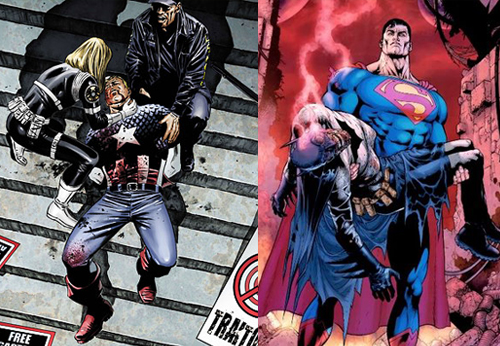 Captain America and Batman Dead Contrarian Fanboy: Grant Morrison Sucks and Heres Why
