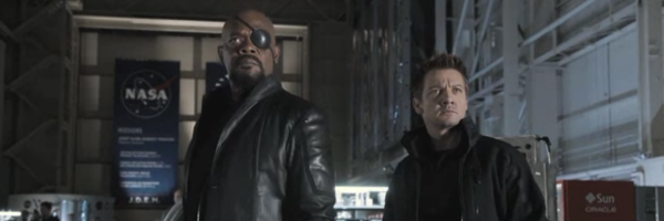 avengers banner nick fury hawkeye The Running Time For The Avengers Has Been Leaked