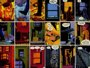 dave gibbons watchmen 2 300x227 CONTRARIAN FANBOY: Why Watchmen Is Overrated