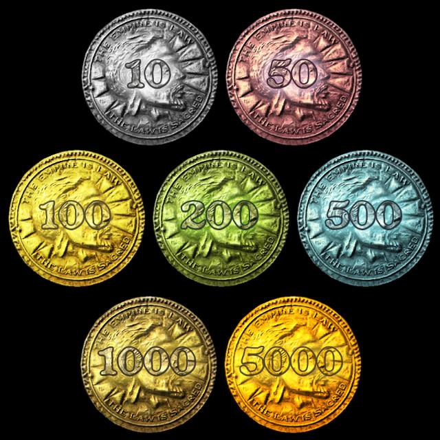 skyrim monopoly coins Skyrim Monopoly...Fus Ro Dah!!!
