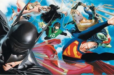 Alex Ross Justice League dc comics  JUSTICE LEAGUE Movie Roster Revealed