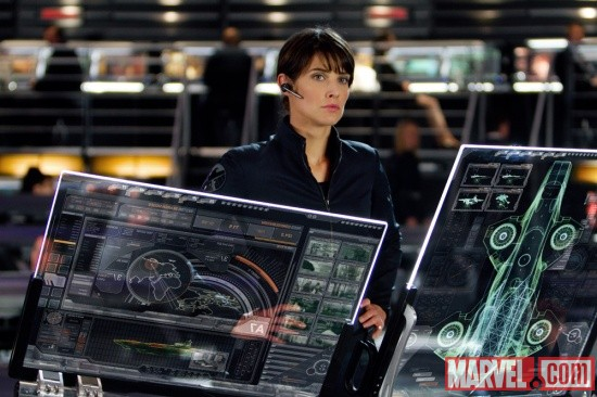 New Pics of Agent Maria Hill from The Avengers!!!