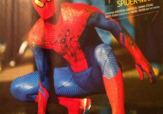 Brand New (Low-Res) Image For The Amazing Spider-Man From Entertainment Weekly