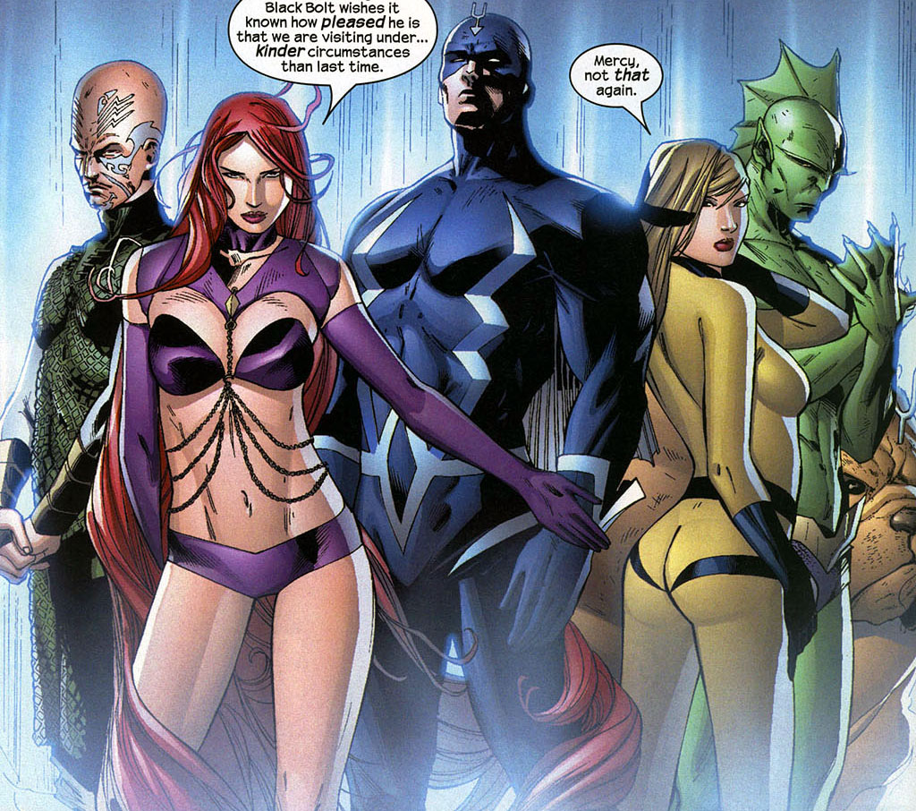 Inhumans 003 EXCLUSIVE:  Inhumans In AVENGERS: AGE OF ULTRON