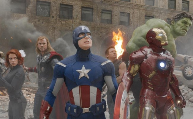 Blu-Ray Trailer For The Avengers Released