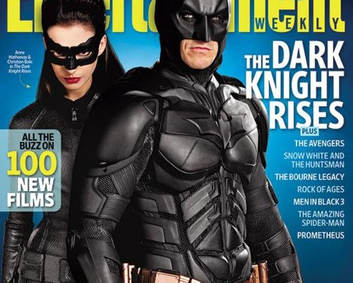 Batman And Catwoman Appear On The Cover Of Entertainment Weekly