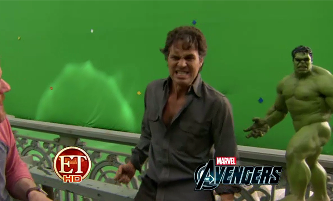 Another Round of Avengers Footage