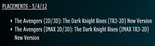 CONFIRMED: The Dark Knight Rises Trailer #3 Attached To The Avengers