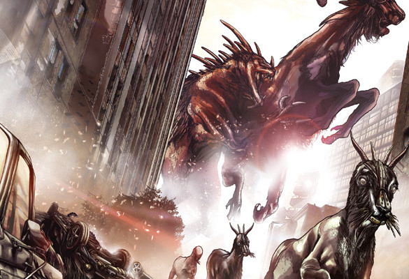 Giant Monster (Heck Yes!) Graphic Novel 'Enormous' From Image Coming in July