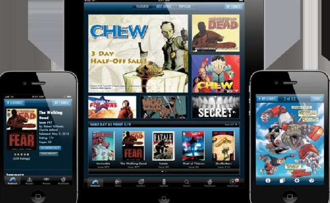 The Image App Powered by ComiXology Upgrades to 3.1!