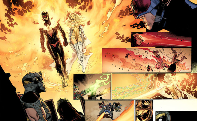 FIRST LOOK: Avengers vs X-Men #6