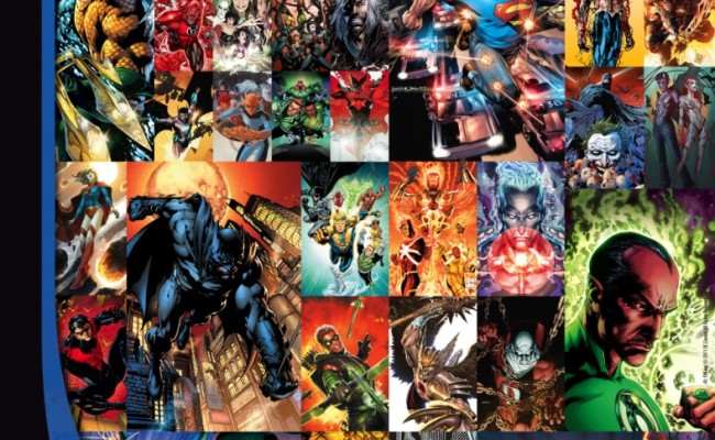 DC announces four new 52 titles, four cancelations and a month full of zeroes!
