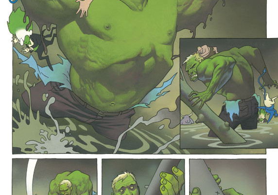 FIRST LOOK: Infernal Man-Thing #1