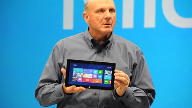 Microsoft unveils their new Tablet