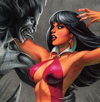 Vampirella vs Dracula #5 Review