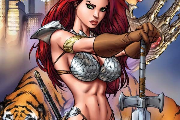 Witchblade / Red Sonja #4 Review
