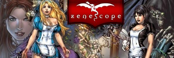Zenescope Entertainment Banner ZENESCOPE ENTERTAINMENT Solicitations for FEBRUARY 2013