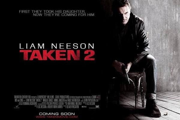 Brand New Taken 2 Teaser Poster