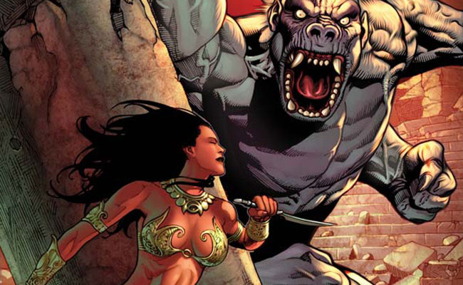Dejah Thoris and the White Apes of Mars #4 Review