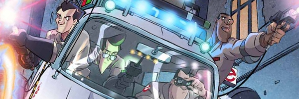 Ghostbusters Comic Book Banner Ghostbusters Volume 3: Haunted America Review