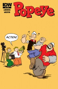 Popeye 06 CvrA 197x300 Popeye #6 Review