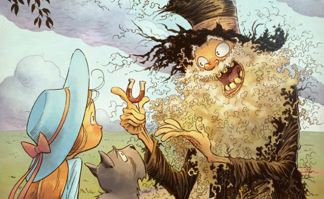 FIRST LOOK: Road to OZ #1 Variant Cover