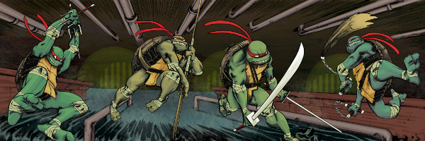 TMNT Banner Teenage Mutant Ninja Turtles #15 Review