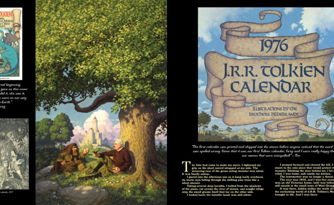 The Tolkien years by the brothers Hildebrandt returns