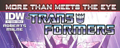 Transformers More Than Meets The Eye Banner Transformers: More Than Meets The Eye #10 Review