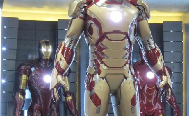 Tony Stark's Brand New Armor from Iron Man 3