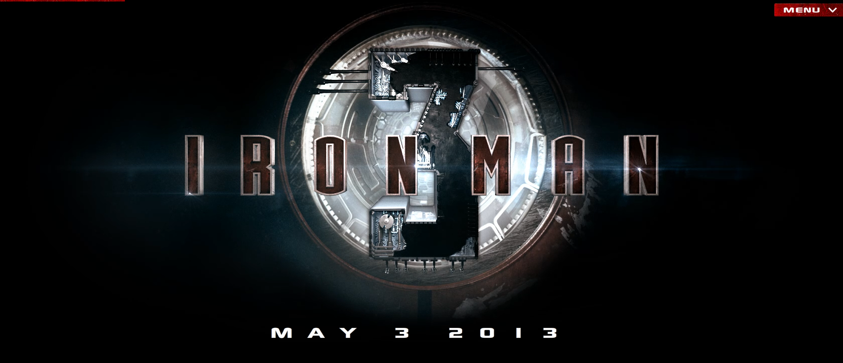 iron man 3 official banner Tony Stark Hurtles Towards Earth in Latest IRON MAN 3 Poster