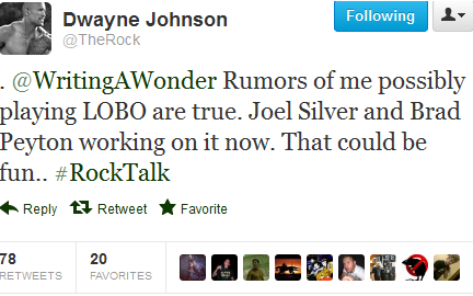 the rock lobo screencap The Rock Confirms Hes In Talks For Lobo