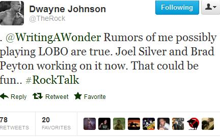 the rock lobo screencap The Rock Confirms Hes In Talks For Lobo