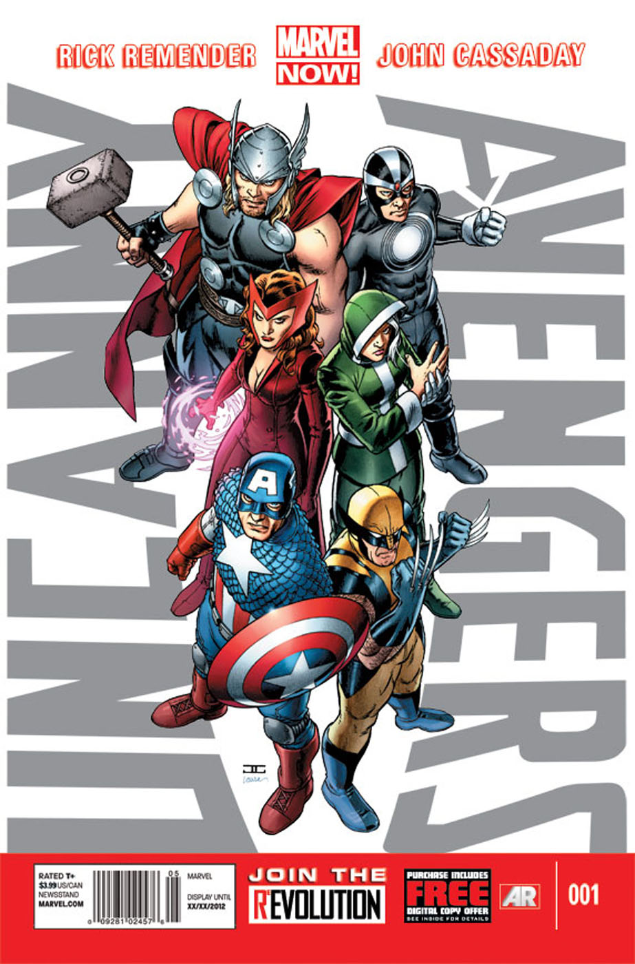 uncannyavengers1 DIAMOND announces the Top Comics in OCTOBER