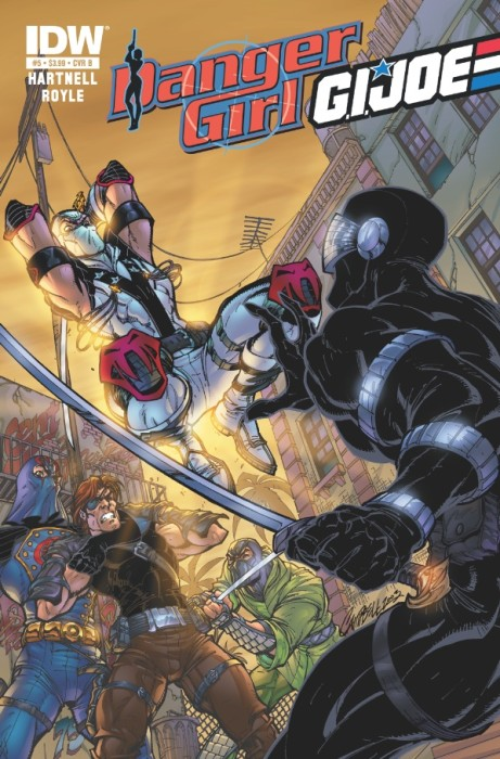 DangerGirl GIJoe 05 461x700 Weekly Comic Reviews 1/2