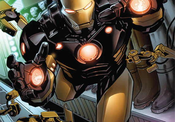 FIRST LOOK: IRON MAN #1