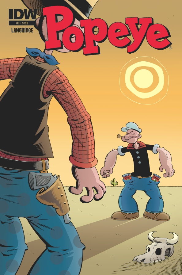 Popeye 07 CvrA Weekly Comic Reviews 11/7