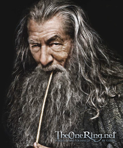 gandalf ianmckellen p1 Does Gandalf Fight Sauron In THE HOBBIT Trailer?