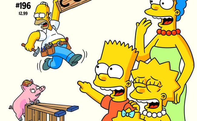 BONGO COMICS Solicitations for NOVEMBER 2012