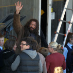the wolverin 2 150x150 Hugh Jackman Goes Feral on set of THE WOLVERINE