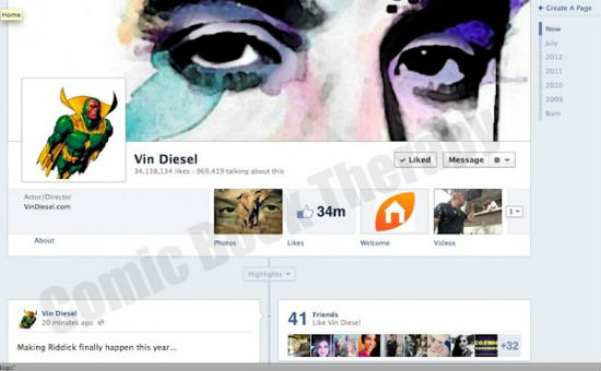 vin diesel the avengers Vin Diesel Wants to be VISION in AVENGERS 2
