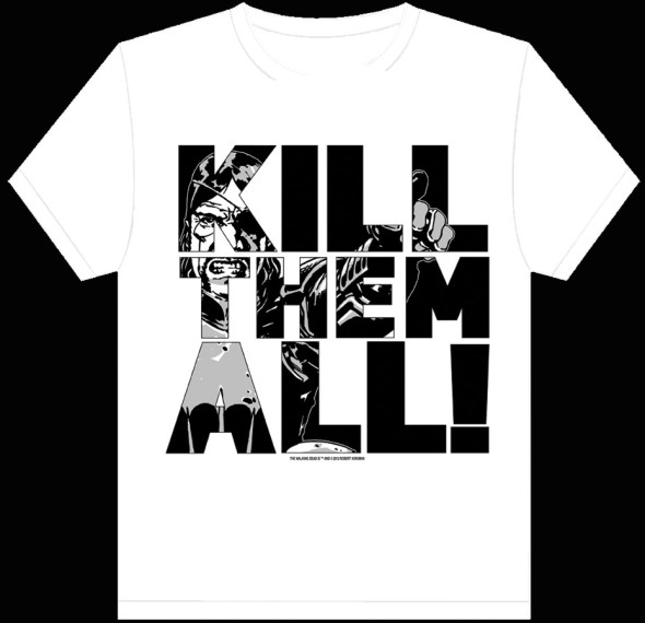 wdead tee white killall web 590x570 IMAGE COMICS Solicitations for NOVEMBER 2012