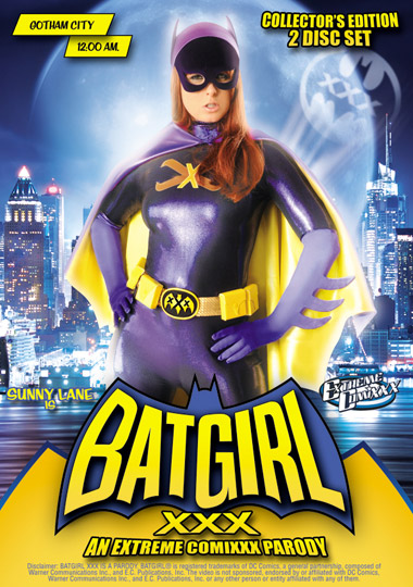 Batgirl XXX Sunny Lane BATGIRL XXX should tide you over until the DVD release of THE DARK KNIGHT RISES