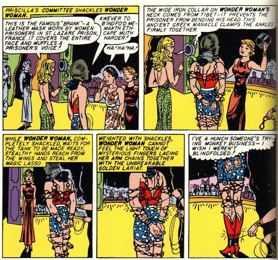 Cheetah shackles Wonder Woman part 1 How to Handle a New WONDER WOMAN TV Show