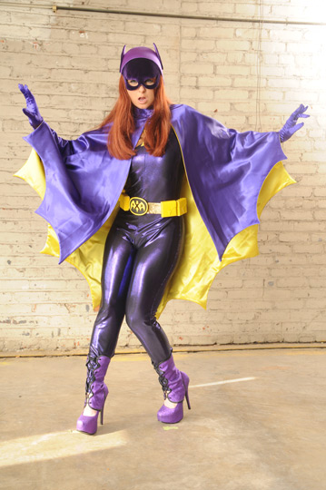 Sunny Lane as Batgirl XXX BATGIRL XXX should tide you over until the DVD release of THE DARK KNIGHT RISES