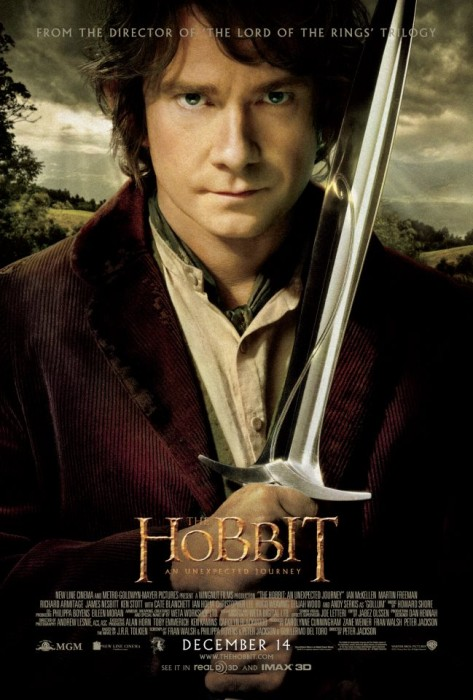 new the hobbit poster 473x700 First Song From THE HOBBIT Soundtrack Leaked