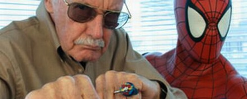 stan lee punch banner Stan Lee Says BLACK WIDOW MOVIE Likely; BLACK PANTHER and DOCTOR STRANGE Already In The Works