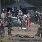 thor the dark world chris hemsworth 13 150x150 Chris Hemsworth Bashing Faces on Set of THOR THE DARK WORLD