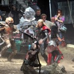 thor the dark world chris hemsworth 15 150x150 Chris Hemsworth Bashing Faces on Set of THOR THE DARK WORLD