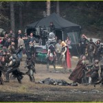 thor the dark world chris hemsworth 7 150x150 Chris Hemsworth Bashing Faces on Set of THOR THE DARK WORLD